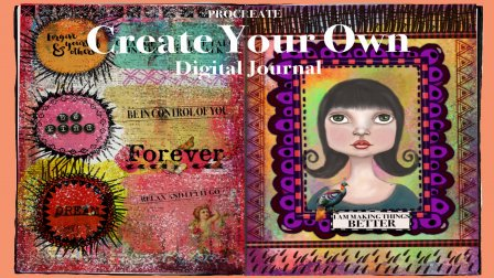 Create a Digital Art Journal Page with Procreate